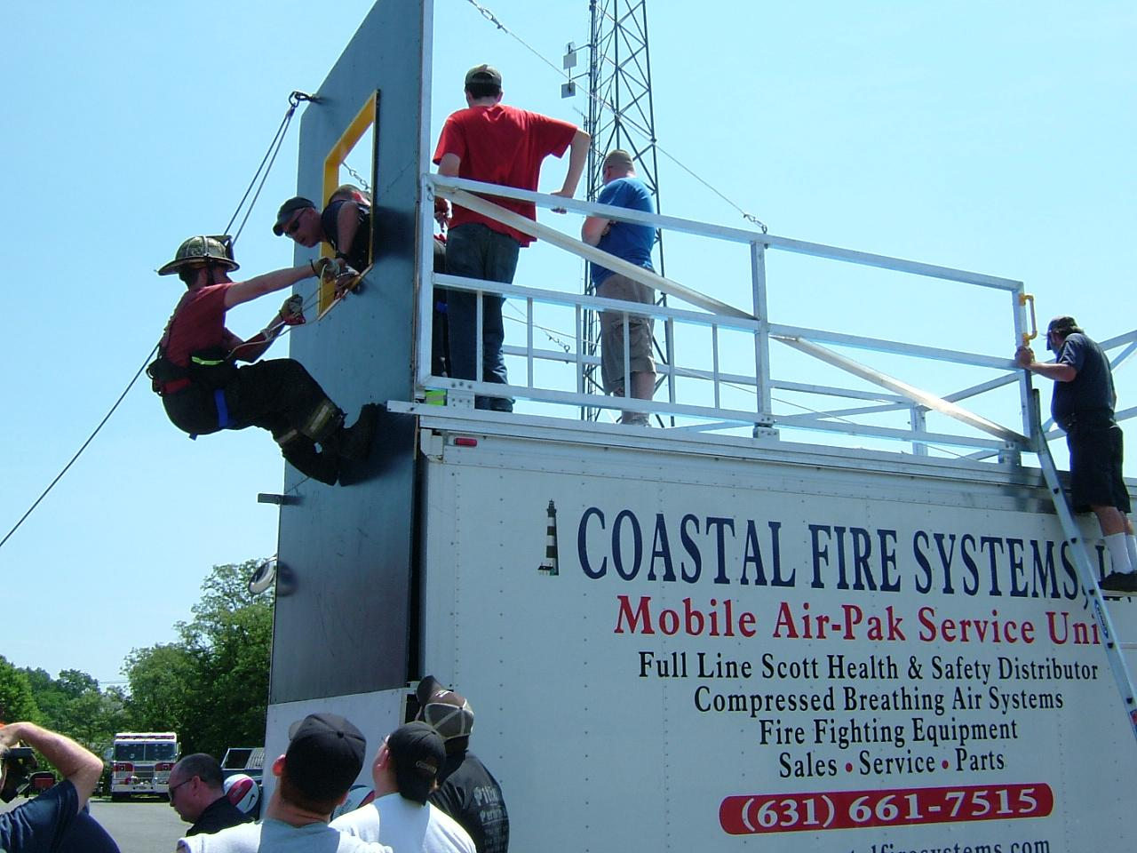 Coastal Fire Systems Training