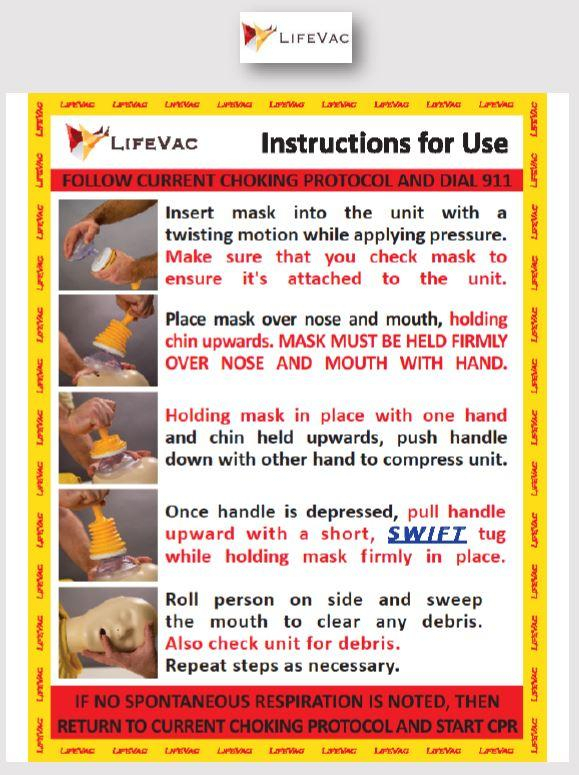 LifeVac Instructional